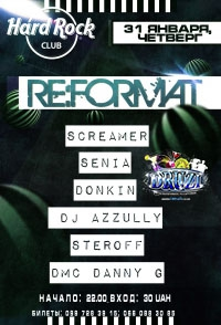 RE:FORMAT @ HARD ROCK CLUB